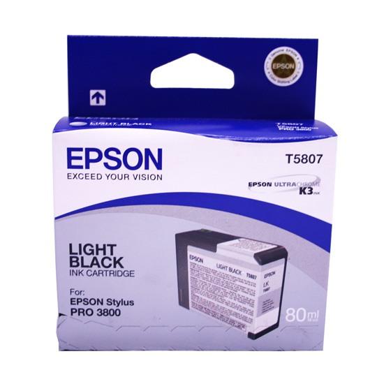 TINTA EPSON T580700 T580700 COLOR NEGRO