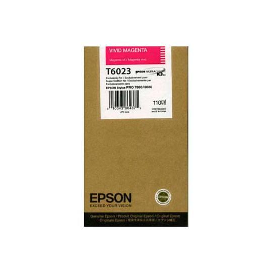TINTA EPSON T6023 T602300 COLOR MAGENTA