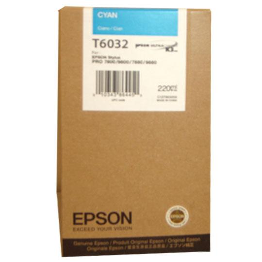 TINTA EPSON T6032 T603200 COLOR CYAN