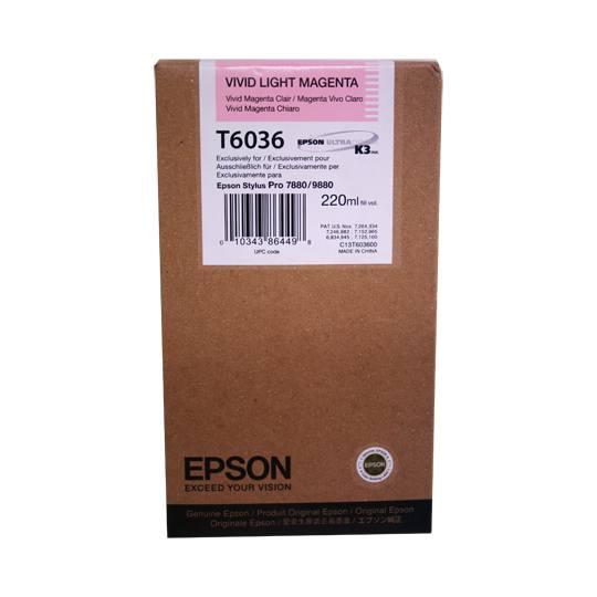 TINTA EPSON T6036 T603600 COLOR MAGENTA