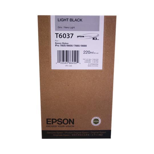 TINTA EPSON T6037 T603700 COLOR NEGRO