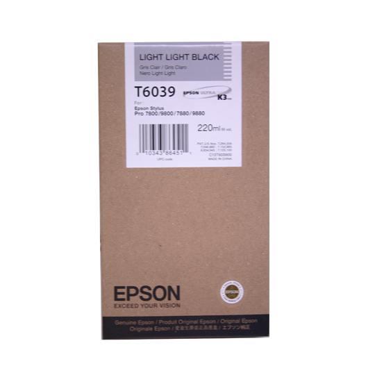 TINTA EPSON T6039 T603900 COLOR NEGRO