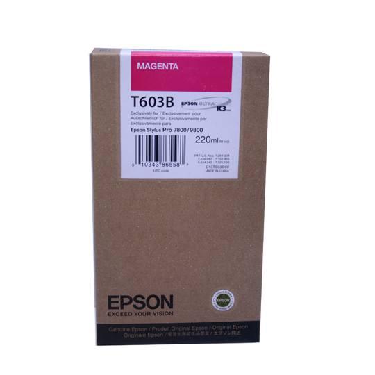 TINTA EPSON T603B T603B00 COLOR MAGENTA