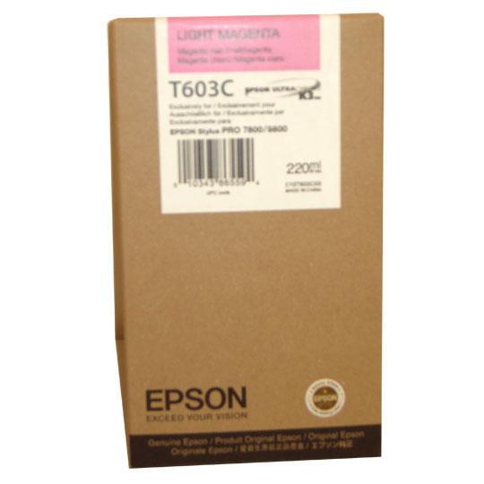 TINTA EPSON T603C T603C00 COLOR MAGENTA