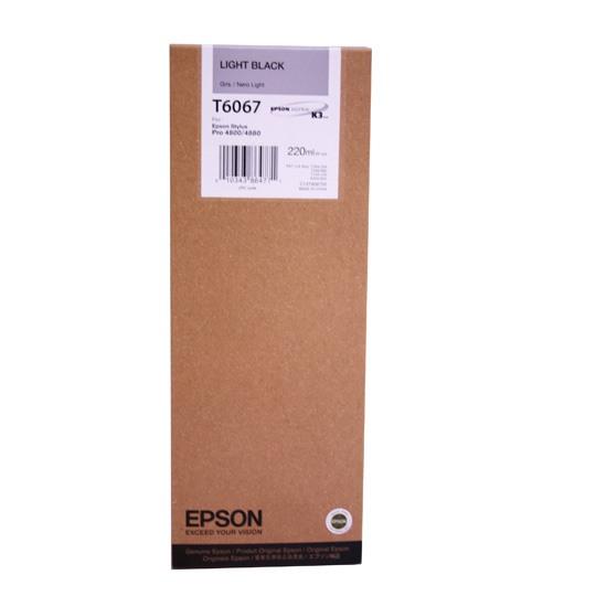 TINTA EPSON T6067 T606700 COLOR NEGRO