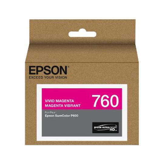 TINTA EPSON 760 COLOR MAGENTA T760320