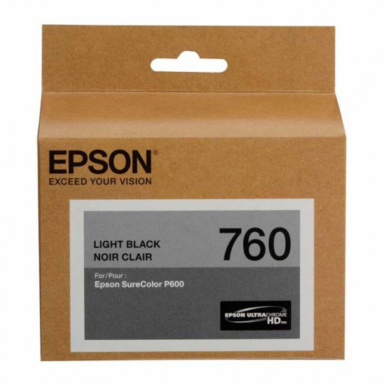TINTA EPSON 760 COLOR NEGRO T760720