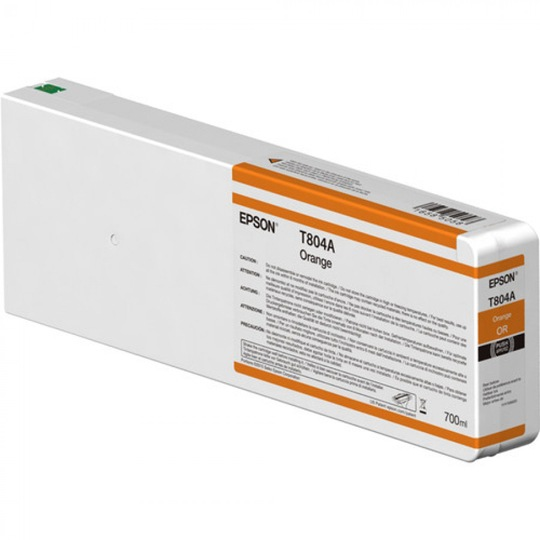 TINTA EPSON T804A00 T804A00 COLOR NARANJA