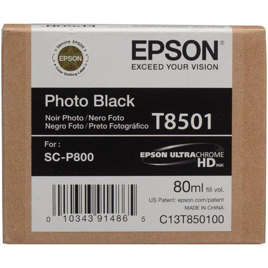 TINTA EPSON T850100 T850100 COLOR NEGRO