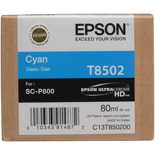 CARTUCHO DE TINTA EPSON T850200 T850200 COLOR CYAN