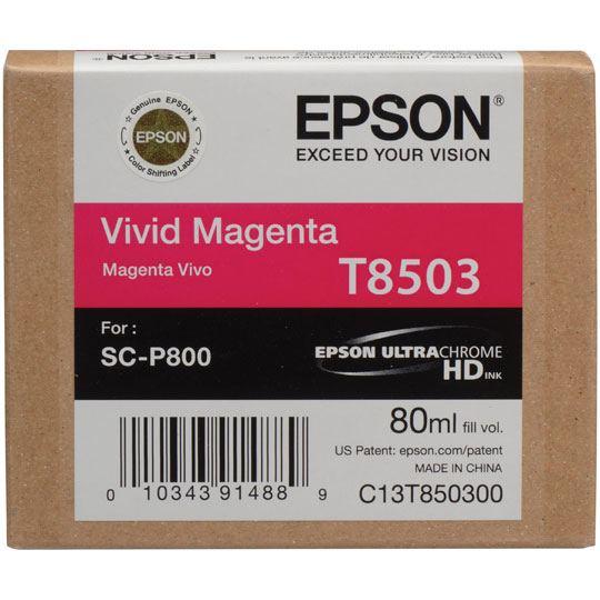 CARTUCHO DE TINTA EPSON T850300 T850300 COLOR MAGENTA