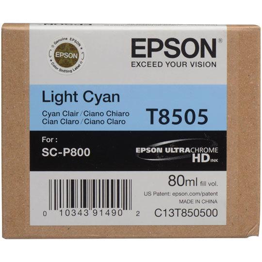 CARTUCHO DE TINTA EPSON T850500 T850500 COLOR CYAN