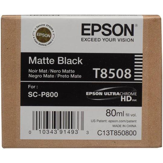 CARTUCHO DE TINTA EPSON T850800 T850800 COLOR NEGRO MATTE