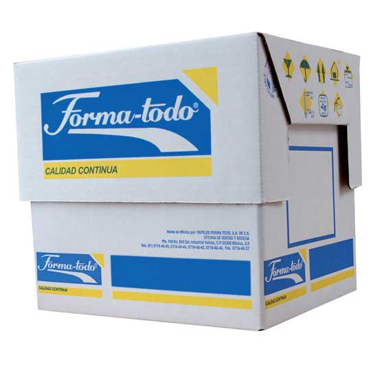 Papel stock 15x11 2 tantos pautado ve