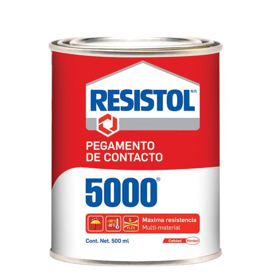 Resistol 5000 amarillo de 500 ml