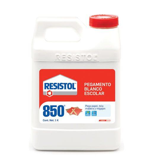 Compra pegamento liquido henkel resistol 850 color blanco - Pegamento fuerte para madera ...
