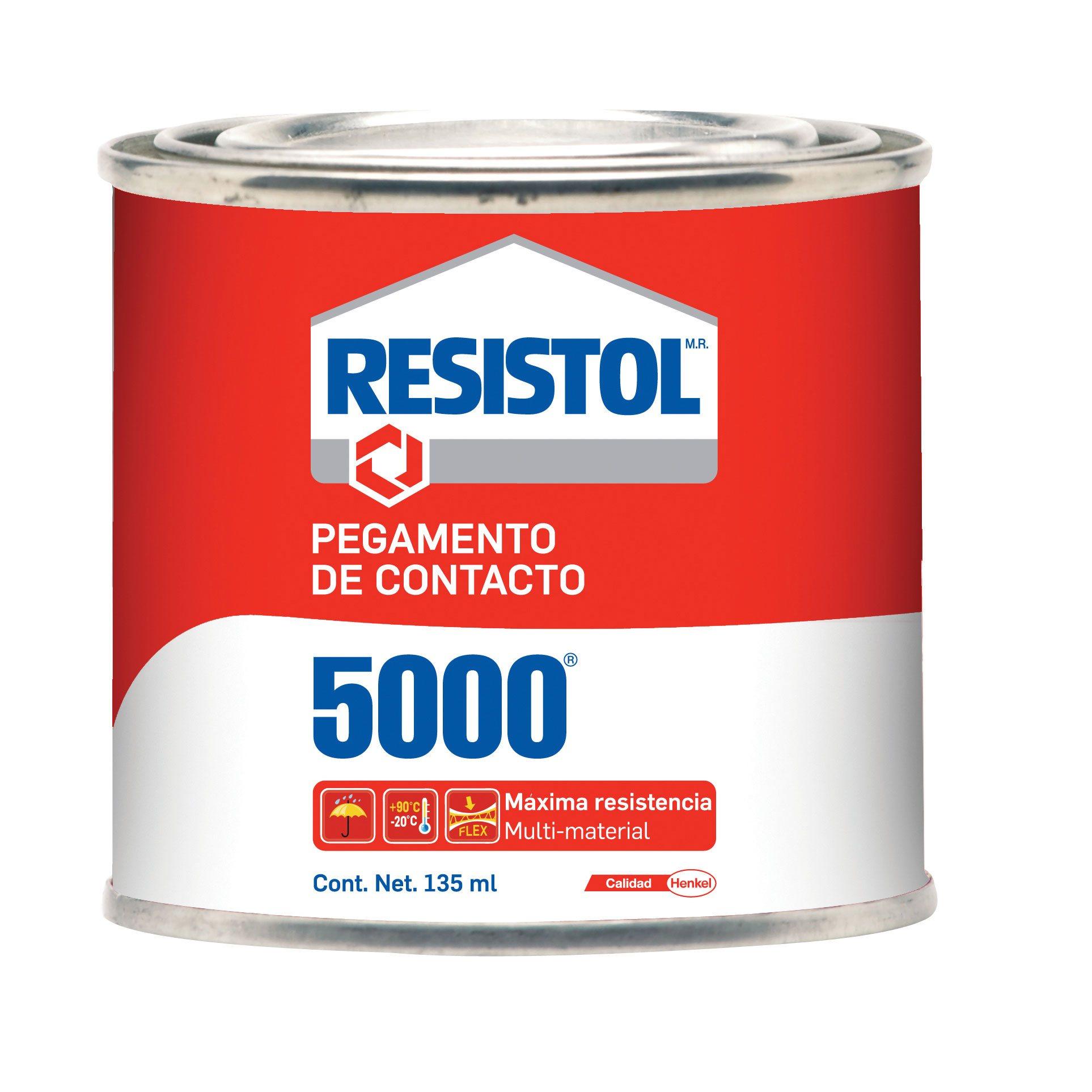 PEGAMENTO LIQUIDO HENKEL RESISTOL 5000 COLOR AMARILLO 135 ML