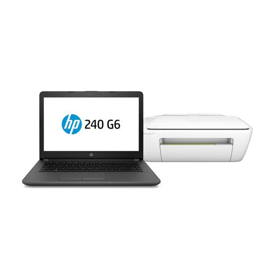 LAPTOP HP 240   MAS MULTIFUNCIONAL HP 2134 HP 3XU21EL INTEL CELERON N4000 RAM DE 4 GB DD SATA 500 GB
