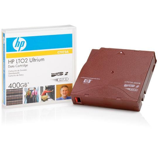 CARTUCHO DE DATOS HP C7972A CAPACIDAD 400 GB