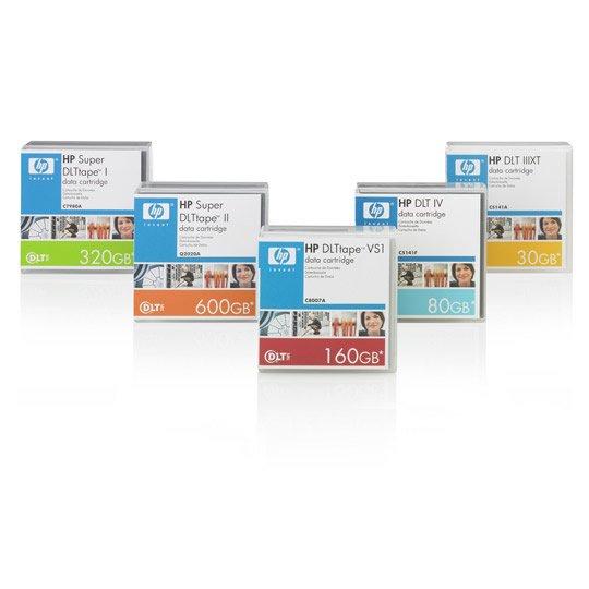 CARTUCHO DE DATOS HP C7980A CAPACIDAD 320 GB