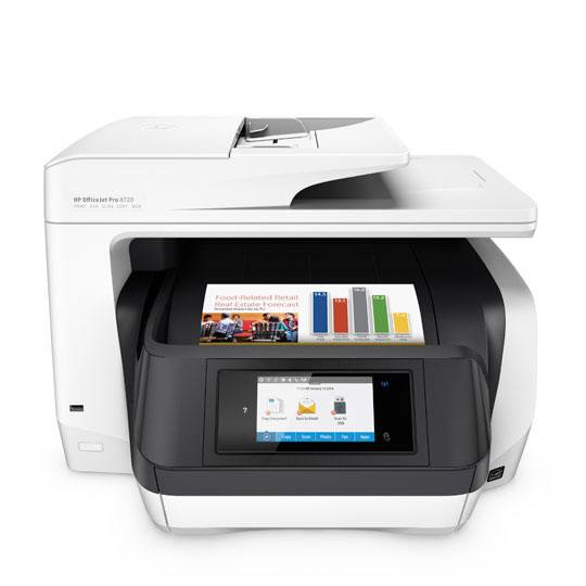 MULTIFUNCIONAL HP OFFICEJET PRO 8720 INYECCION DE TINTA COLOR