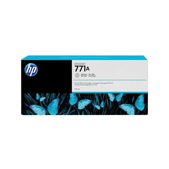 Hp 771a 775ml light gray designjet in