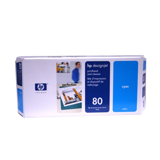 TINTA HP C4821A 80 COLOR CYAN