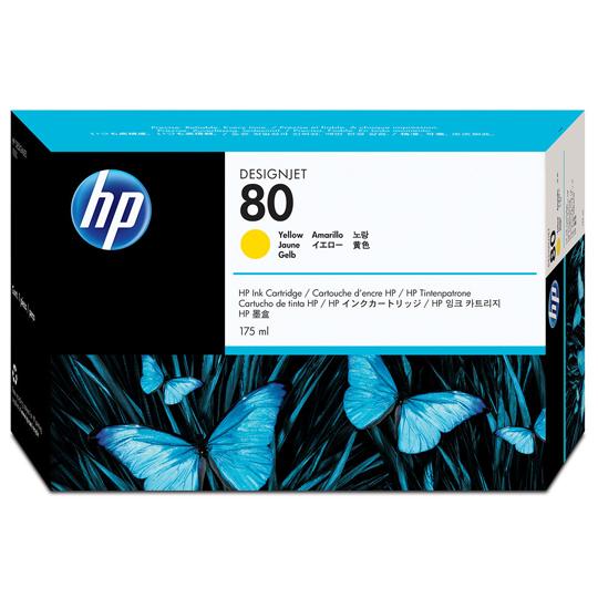 CARTUCHO DE TINTA HP 80 AMARILLO ORIGINAL C4873A