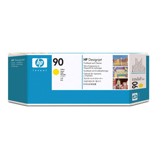 TINTA HP C5057A 90 COLOR AMARILLO