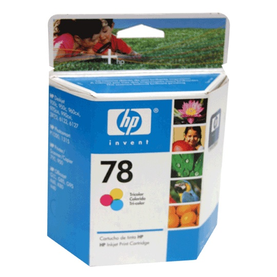 CARTUCHO DE TINTA HP 78 TRICOLOR ORIGINAL C6578DL