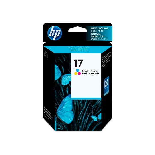 CARTUCHO DE TINTA HP 17 TRICOLOR ORIGINAL C6625A