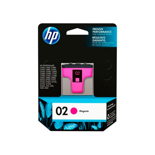 TINTA HP C8772W 02 COLOR MAGENTA