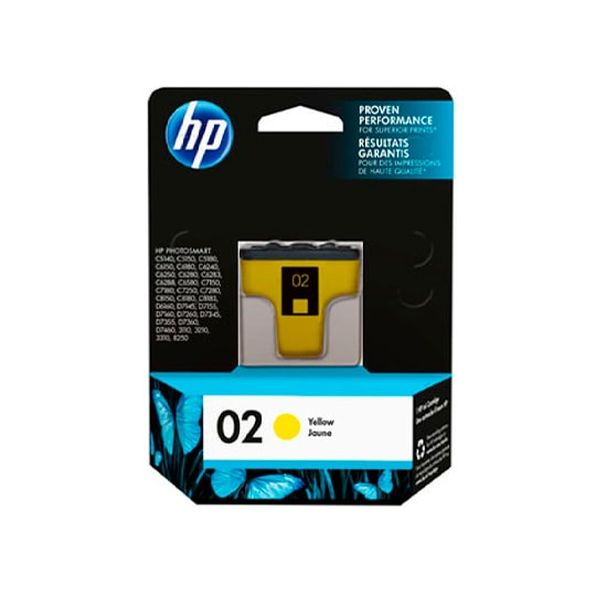 TINTA HP C8773W 02 COLOR AMARILLO