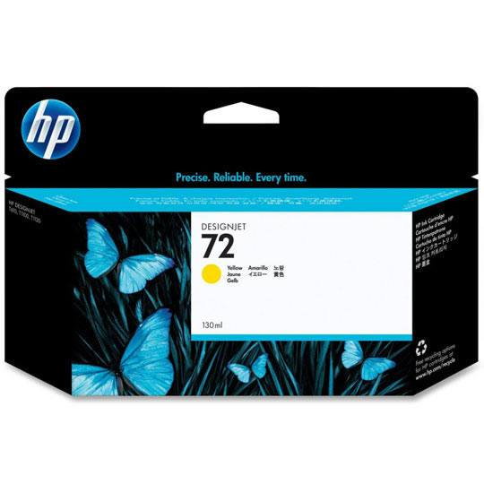TINTA HP 72 C9373A COLOR AMARILLO