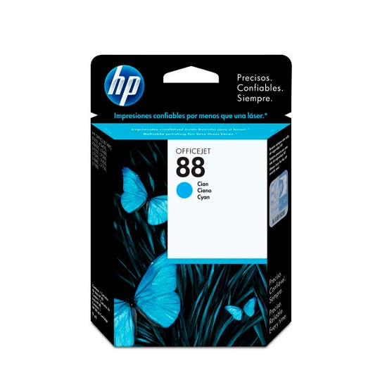 TINTA HP C9386AL 88 COLOR CYAN