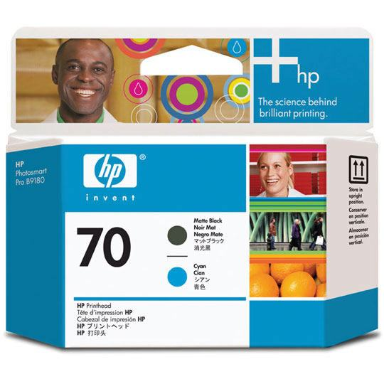 TINTA HP C9404A 70 COLOR NEGRO