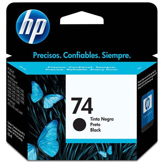 CARTUCHO DE TINTA HP 74 NEGRO ORIGINAL CB335WL