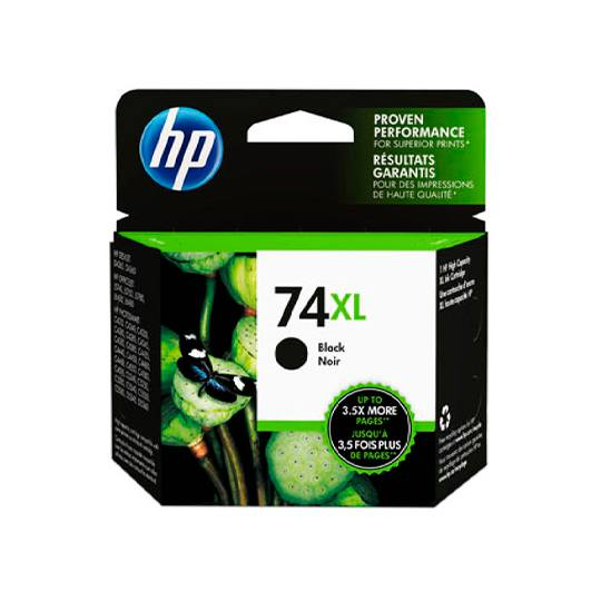 TINTA HP CB336WL 74XL COLOR NEGRO