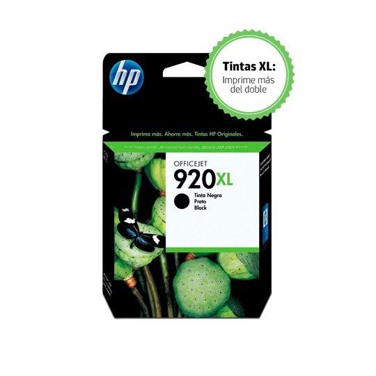 CARTUCHO DE TINTA HP 920XL NEGRO ORIGINAL CD975A