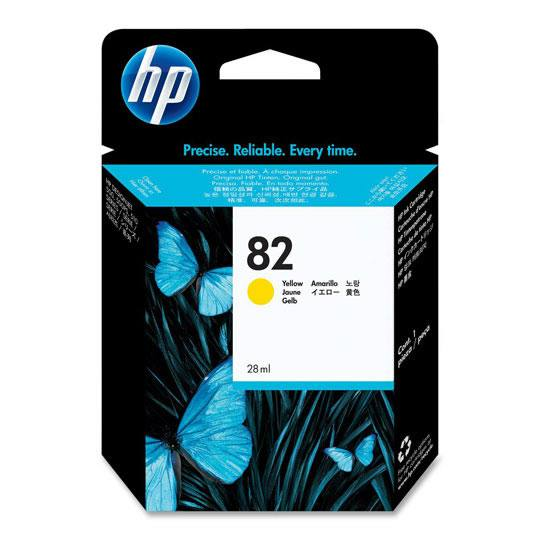 TINTA HP CH568A 82 COLOR AMARILLO