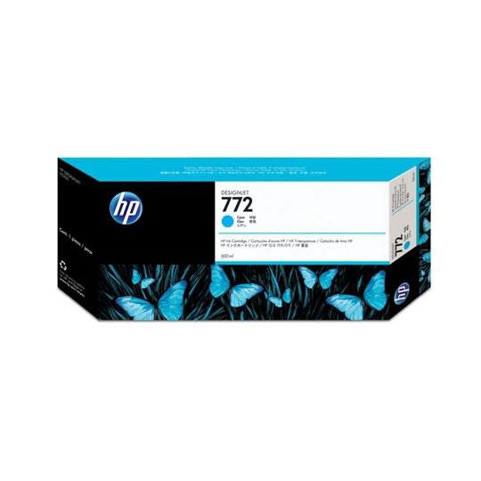 TINTA HP CN636A 772 COLOR CYAN