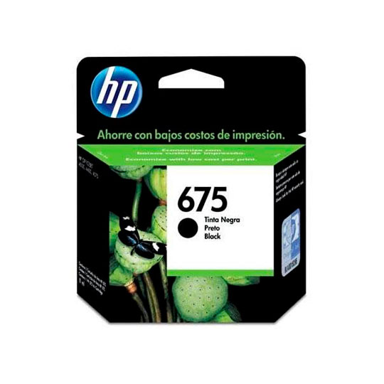 TINTA HP CN690AL 675 COLOR NEGRO
