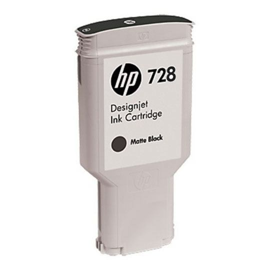 Hp 728 300-ml matte black designjet ink