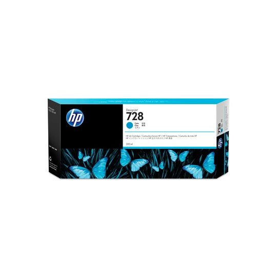 TINTA HP 728 F9K17A COLOR CYAN