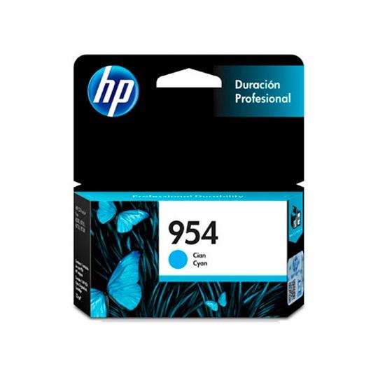 CARTUCHO DE TINTA HP 954 CYAN ORIGINAL L0S50AL