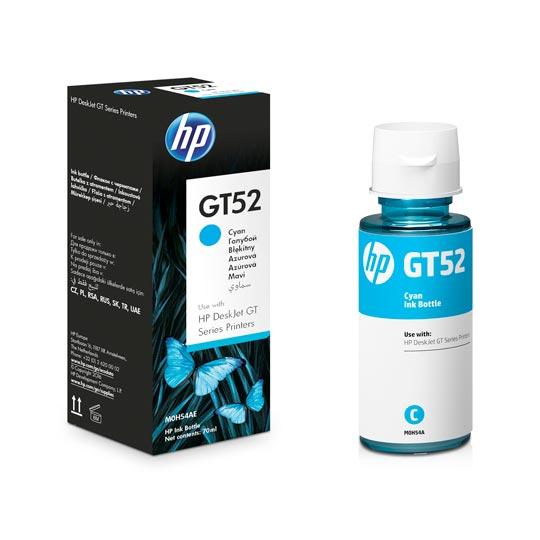 CARTUCHO DE TINTA HP GT52 CYAN ORIGINAL M0H54AL