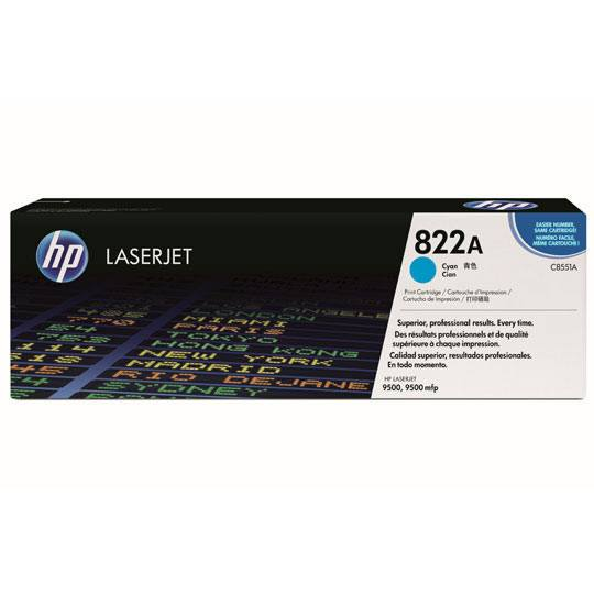 TONER HP 822A C8551A COLOR CYAN