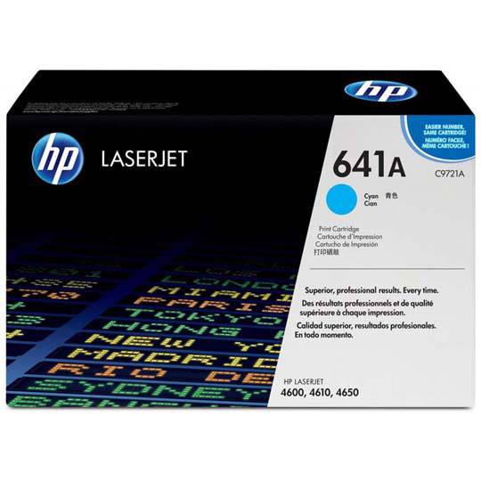 TONER HP 641A C9721A COLOR CYAN