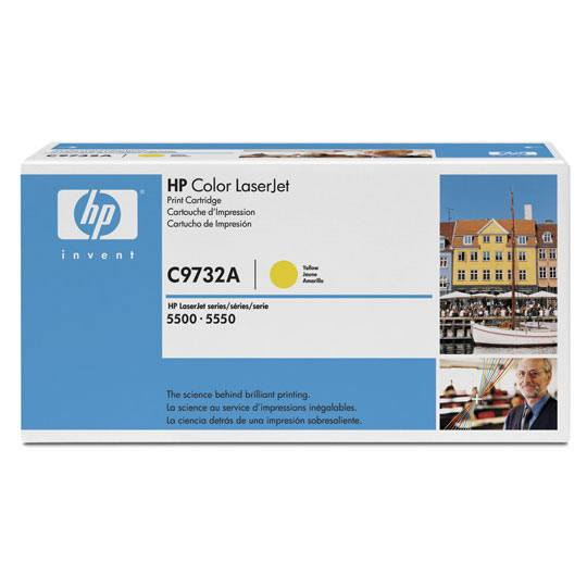 TONER HP 645A C9732A COLOR AMARILLO