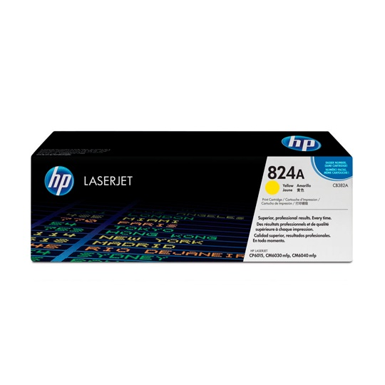 TONER HP 824A CB382A COLOR AMARILLO